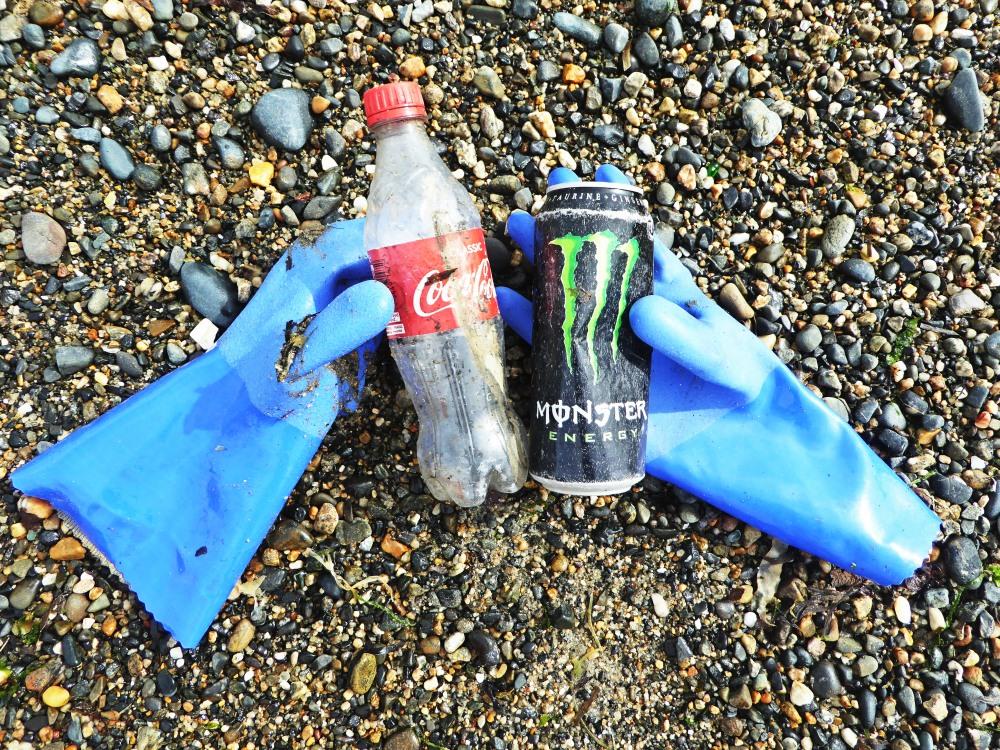 Beach cleaning season at Rame